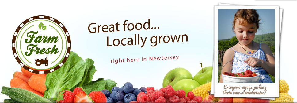 pick locally grown fruits and vegetables
